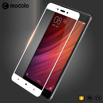 Wholesale Cellphone Glass Screen Protector for Redmi note4 Tempered Glass full cover