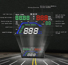 China Factory Wholesale Accessories. Car GPS HUD Head Up Display Car Window Projector