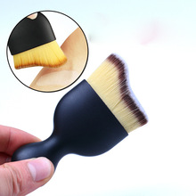 Factory price curved face <strong>brush</strong> foundation makeup <strong>brush</strong> HG9020