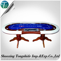 Custom design casino first grade round poker table, gambling tables with manufacturer price