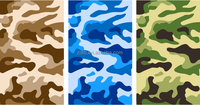 leather release paper M-105 camouflage pattern for garment ,sports and case use