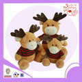 Christmas deer shape plush toy