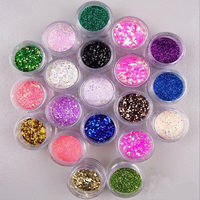 Glow in dark the dark glitter sequin for tattoo,painting,makeup