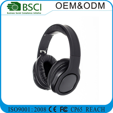 2017 High quality stereo sport bluetoothheadset, foldable noise cancelling OEM brand wireless bluetooth headphone