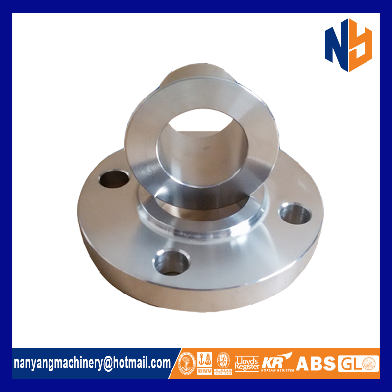 Stainless steel welded lap joint stub end flange