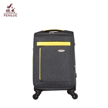 hot sale colorful fabric italian black luggage travel bags set 3pcs