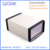 Hinged junction box metal electronics iron steel box