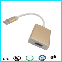 Premium metal housing usb 3.1 type c to hdmi adapter converter