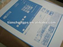 CTP plate / printing press plate / to plate maker