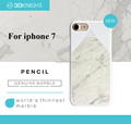 Luxury Marble Design PC Bumper Mobile Phone Accessory Back Cover for iPhone 7 Plus Custom Made for iPhone 7 Case