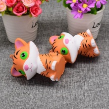 OLEEDA Little Tiger Shape Decompression Toy PU Squeeze Slow Rising Squishy Toys Adorable Kids Lovely Gift