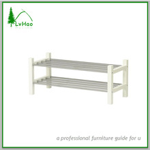 LIDL stainless steel tube shoe rack