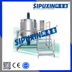 Stainless steel liquid detergent mixer for liquid soap, hand washing