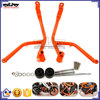 BJ-FG-KT001 Motorcycle Orange Frame Crash Bars Guard Protector for KTM DUKE 390