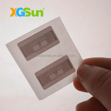 Iso18000-6c EPC Gen2 Rfid Jewelry Labels for Jewelry Packaging