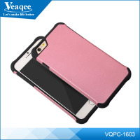 Veaqee Mix colors Ultra Thin Clear Crystal Gel Soft TPU + PC Hard Case Cover for iPhone 6