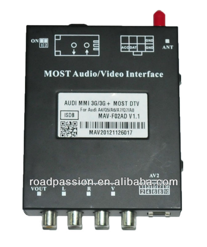 A4 B8 av output Audio/Video Interfaces digital tv converter