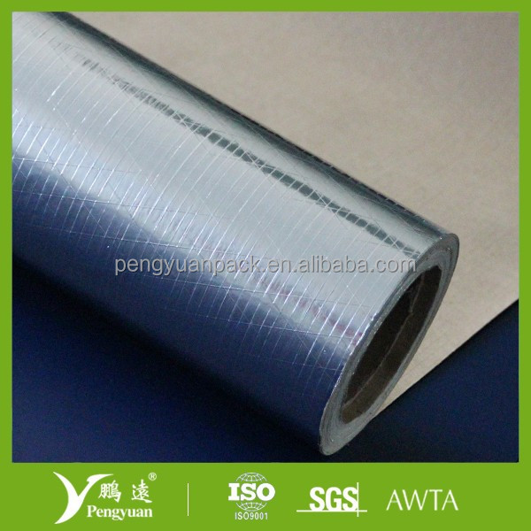 Reinforced Aluminum Foil/Adhesive Glue/Scrim/Kraft Paper For Roof Insulation
