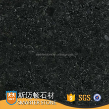 Hotselling black granite new polished granite flamed tiles own fatory wholesale