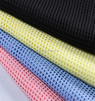 Comfortable, good quality ,breathable polyester square net fabric