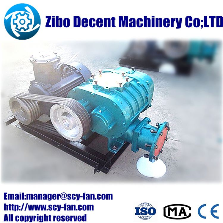 15t/h Grass seeds aeration roots blower/pneumatic air conveying blower pneumatic conveyor