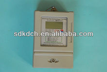 Single-phase Smart Prepayment Electric Meter Reading