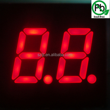 shenzhen high birghtness red mini 7 segment led display for oil/gas station