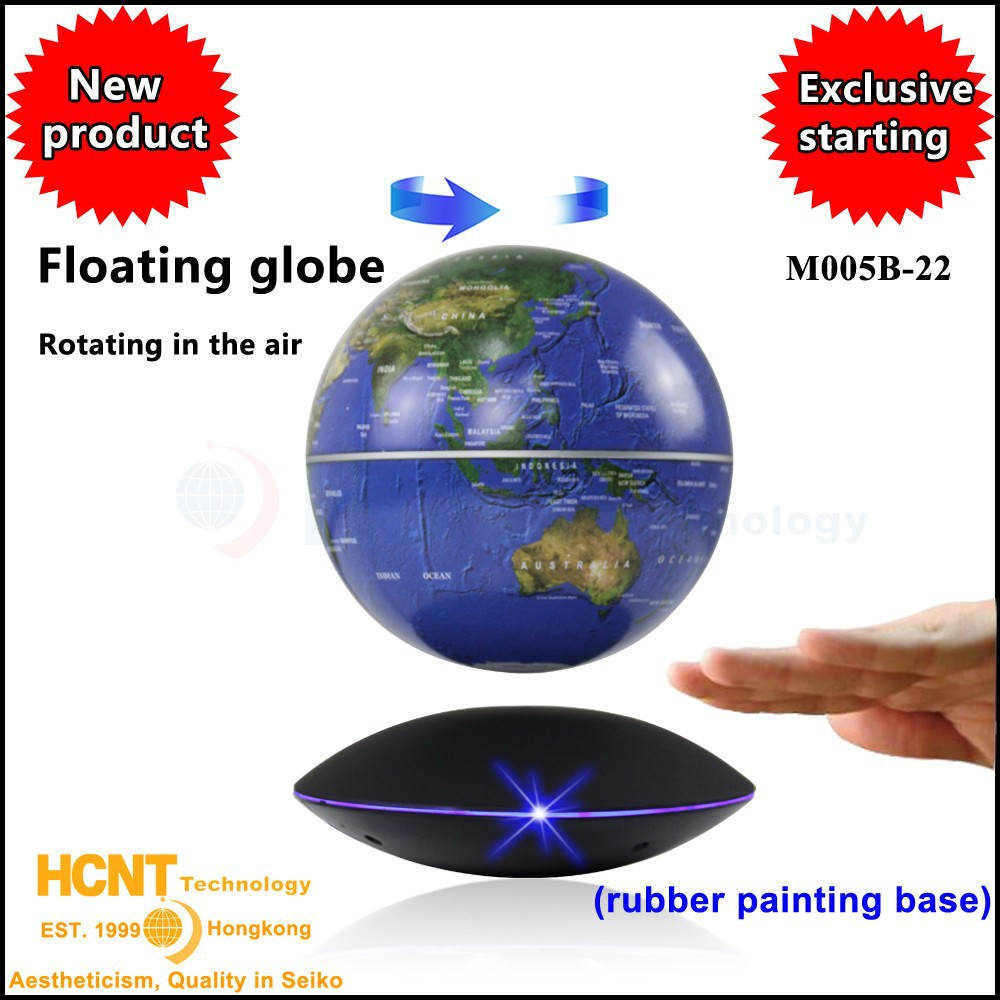 Innovative silicone toys for children, HCNT levitating globe(M005B-22)