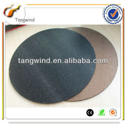 TWA0126 Faux Leather (PU, PVC) Or Genuine Leather paper-cut/scissor-cut coaster/ table mat/ cup mat/placemat/desk mat