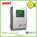 LCD display 45-60A 12/24V/36V/48V auto detect adjustable MPPT solar charge controller