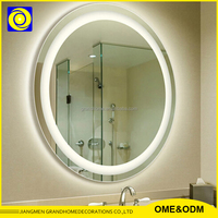 High Quality Fashionable Wall Mounted Bathroom Mirror Led