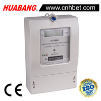 3 phase 3 wire digital static energy meter