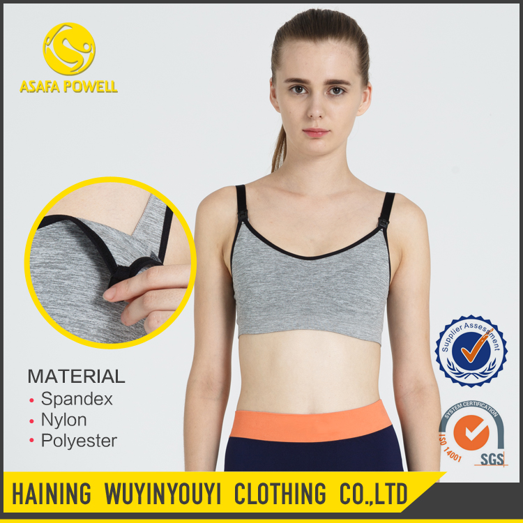 Tight Wholesale Clothing Women New Nude Model Sports Bra