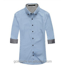 latest brand name men casual dress shirts pattern for men