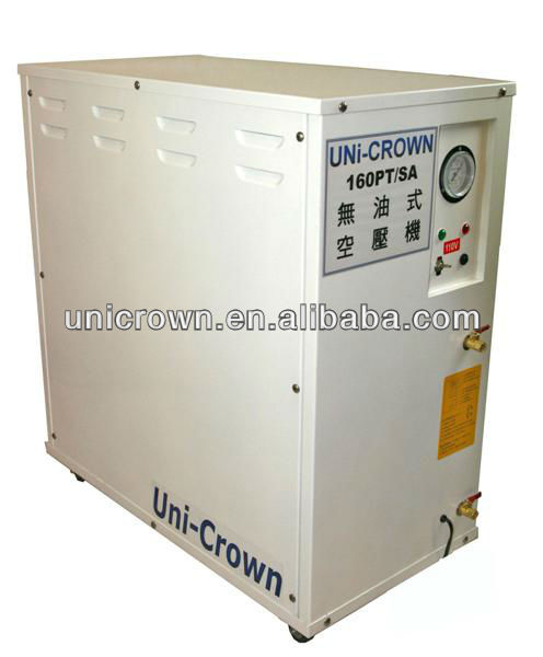 UN-160PT/SA Oilless Air Compressor ac set with case