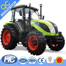 EPA approved tractor / 4WD agriculture tractor with backhoe loader