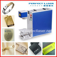 cattle ear tags / metal label / logo design laser engraving machine for metal PEDB-400A