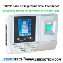 0.5S Fast Speed WiFi TCP IP USB Color Screen biometric face recognition device for attendance