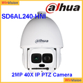English firmware laser ir ptz Powerful 40x optical zoom 500m IR PTZ Camera Dahua SD6AL240-HNI