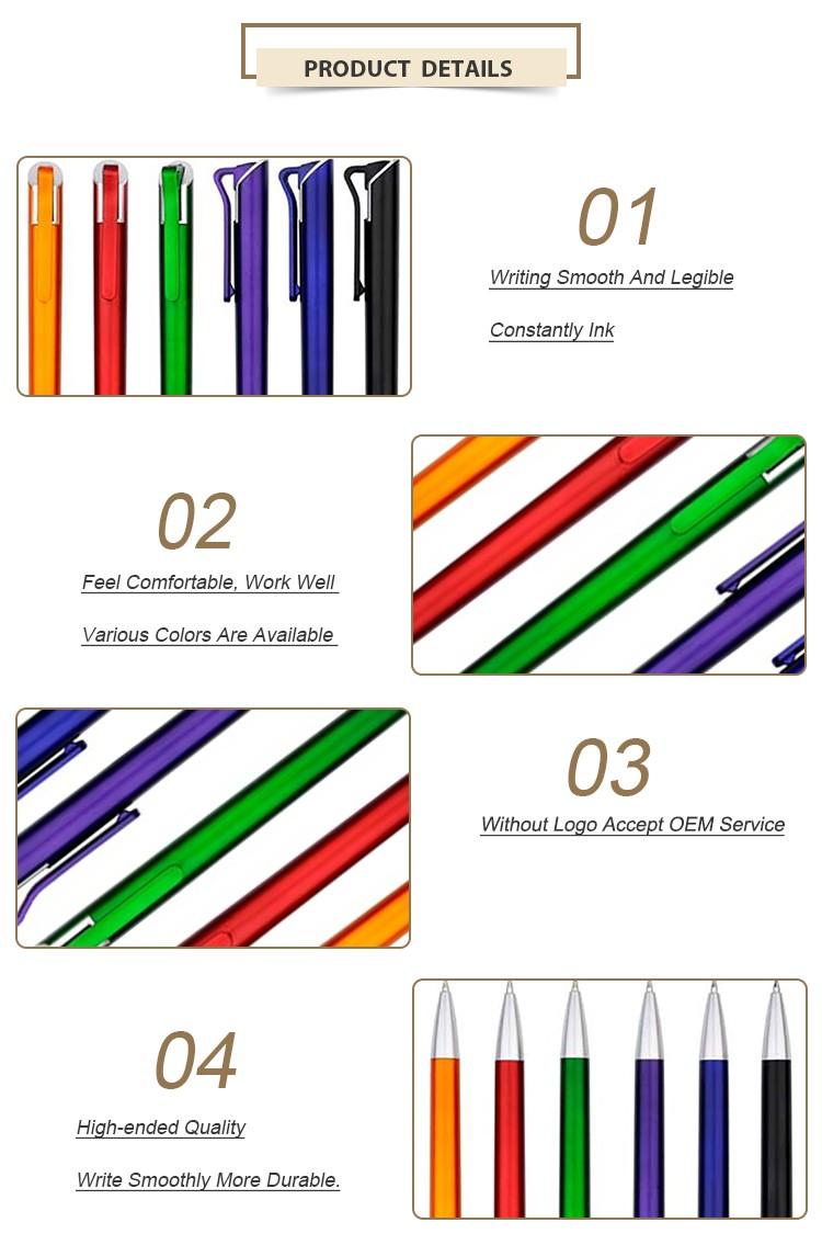 Fine Premium Non-Toxic Plastic Ball-Point Pen