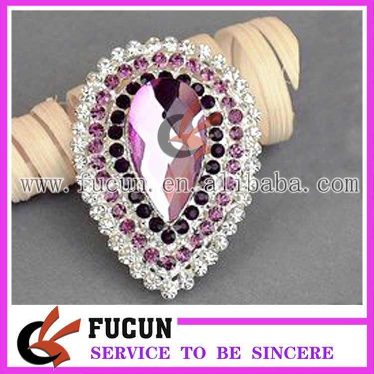 jewelry custom new design bridal rhinestone silver plated brooch