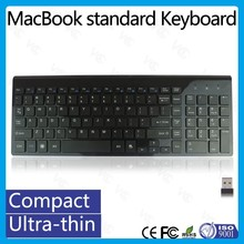 Chocolate Design Multimedia 2.4Ghz Ultra-thin Silent Wireless Keyboard