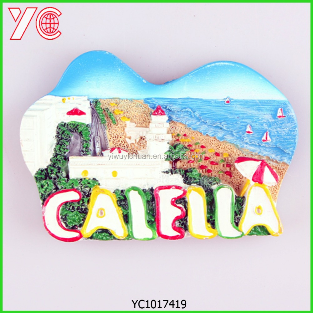 YC1017419 make your design spain holders fridge magnet polyresin souvenir