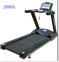 Guangzhou Amazing body building product AMA-2086A 7.0hp ac motor running track machine with USB MP3