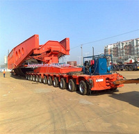 SYV3 Goldhofer modular trailer lowbed trailer economic price for project cargo