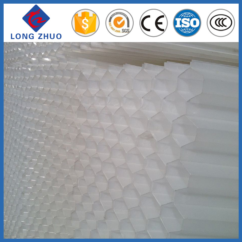 Variety of precipitation and sand removing use hexagonal honeycomb packing water treatment