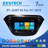 car headrest mount portable dvd player for GREAT WALL H1 2015 headrest car dvd player with 3g wifi