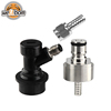 Stainless Ball Lock Carbonater Carbonation Cap