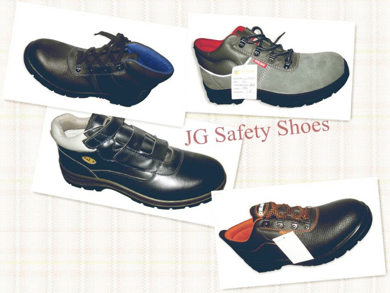 Labor Protective PU Sole Man Safety Shoe