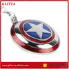 Captain America keychain,the averger captain america key ring 3d keychain GK1544